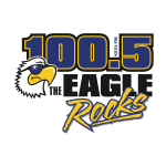 The Eagle 100.5 logo